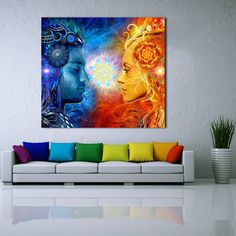· 1. As the lighting effects, the color of objects maybe a little different from pictures. · 2. To keep down the shipping cost and avoid the frame damaged on shipping, this canvas print painting is without inside and outside frame, but this size is usual photo frame size...
