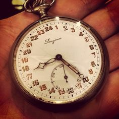 Longines 24 hour pocket watch