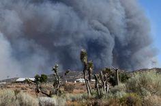 Aug 17, 2016 Smoke fills the skies from the so-called Bluecut Fire in the San Bernardino National Forest in San Bernardino County, California.