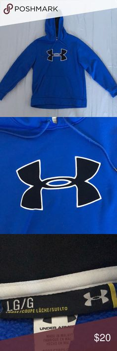 Under armour hoodie Like new under armour hoodie, loose fit. Under Armour Jackets & Coats Performance Jackets