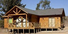 100 M2, Bamboo House, Cabin, House Styles, Simple, Inspiration, Home Decor, Shed Homes, House 2