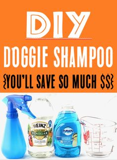 How to Make DIY Dog Shampoo! {Works Great for Odor} Dog Shampoo DIY Homemade Recipe! You won't believe how much you'll save with this simple trick! Go grab the recipe and give it a try this week! Homemade Dog Shampoo, Best Dog Shampoo, Natural Dog Shampoo, Puppy Shampoo, Diy Shampoo, Diy Pet Shampoo Dogs, Homemade Conditioner, Stinky Dog, Dog Care Tips