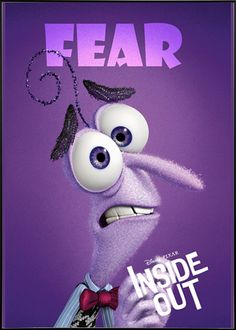 Inside Out (2015) - Character Fear