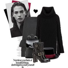 """Sweater and skirt"" by elske88 on Polyvore"