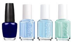 The best blue and green polishes for summer: (http://racked.com/archives/2014/05/16/best-mani-pedi-colors.php)