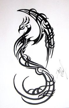 THIS is the style i WANTED on my phoenix tattoo, he did something entirely different, i like what i have but what i wanted would have been better, i think a good artist can add to my design and change it enough so i wont be disappointed again