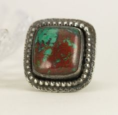 Sonoran Sunrise Sterling Ring Sonoran Sunset Ring  by PPennee
