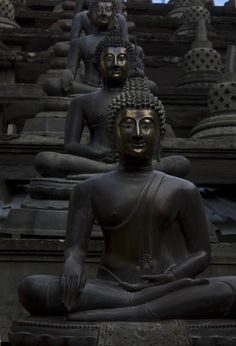 Buddha, Sri Lankan Temple