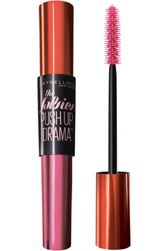 Why we love it: The cup-shaped bristles push lashes up without the use of a curler and keep them in place all day—think hairspray meets (as the name suggests) a push-up bra. Maybelline Volum' Express The Falsies Push-Up Drama Mascara, $7.50, target.com.   - HarpersBAZAAR.com
