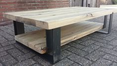 Coffeetable custommade by Lijn M - For Now