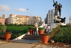 LEBANON, BEIRUT, MARTYR SQUARE