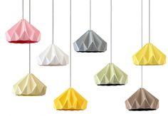 Origami lamps / Studio Snowpuppe