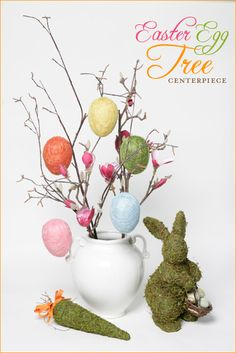 Pretty Easter Egg Tree Centerpiece