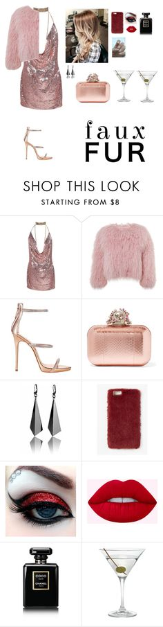 """""""Untitled #1569"""" by lucy-rose-hill ❤ liked on Polyvore featuring Charlotte Simone, Giuseppe Zanotti, Jimmy Choo, Missguided, Chanel and Nordstrom"""
