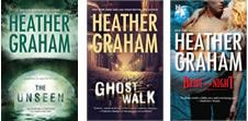 Heather Graham is one of my all time favorite authors.  I love her paranormal books.
