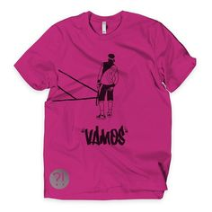 And our classic VAMOS clay grinder shirt. Well... He's grinding for something else as well.  #tennis #vintage #menswear  #fashion #sport #tenis #sports #love #court #tennisplayer #champion #tournament #fun #fitness #racket #match #tennislife #shoes #serve #tennisball #play