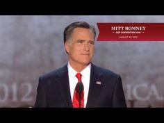 Mitt Romney, the Republican Presidential Nominee