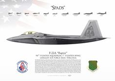 UNITED STATES AIR FORCE 94th Fighter Squadron, 1st Fighter Wing Langley Air Force Base, Virginia 2016