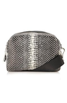 Topshop Double Zip Crossbody Bag available at #Nordstrom