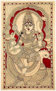 Painting Styles, Paintings I Love, Indian Paintings, Mandala Art Lesson, Mandala Artwork, Madhubani Art, Madhubani Painting, Mural Painting, Fabric Painting