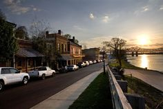 Natchez, MS. It sure doesn't seem that pretty when you actually live there.