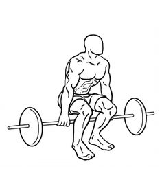 Learn how to do all our variations of hack squats, one of the best leg exercises. Although most aren't aware, the best exercise of this type is done without a hack squat machine. Mens Cardio Workout, Best Leg Workout, Squat Workout, Workout Guide, Workout Plans, Leg Workouts For Mass, Fit Board Workouts, Fun Workouts, Workout Board