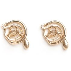 Dream Collective Snake Stud Earrings