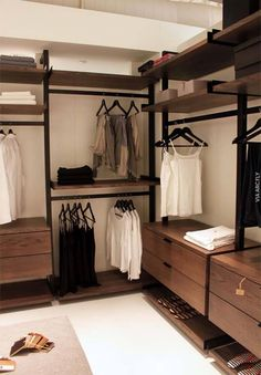 Best Modern Closet Design, For you fashion lovers and the latest clothing collection, the closet is a favorite furniture that is certainly needed at home. Walk In Closet Design, Bedroom Closet Design, Master Bedroom Closet, Closet Designs, Spare Room Walk In Closet, Narrow Closet, Bathroom Closet, Wardrobe Design, Rustic Closet