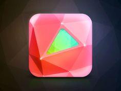 Dribbble - App Icon Design - Crystalis Puzzle by Dash