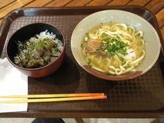 「我部祖河食堂」のソーキ丼&ミニそばセット