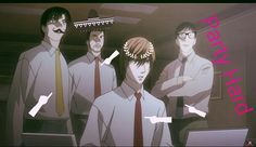 #DeathNote #LightYagami Death Note funky party