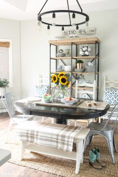 Late Summer Tablescape via House by Hoff