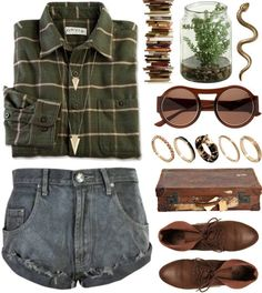 0.51 by ladykrystal featuring a vintage leather suitcase
