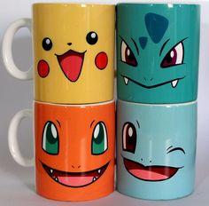 Mugs Pokemon, disfruta de tu bebida favorita con tus personajes favoritos :D
