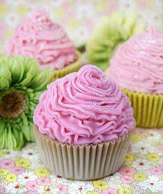 Cold process cupcake