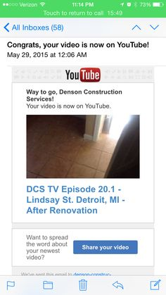 Check out one of our recent #construction #renovation projects that we just completed.   Make sure you subscribe to our YouTube channel Denson Construction Services.