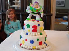 Buzz Lightyear Cake | To Infinity and Beyond…a Buzz Lightyear Cake | the treat boutique
