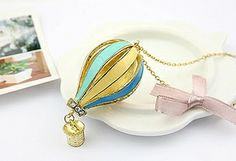 Free Hot Air Ballon Necklace (Long chain) when you like us on Facebook. Find out more http://www.closetwalkin.com/springpromotion