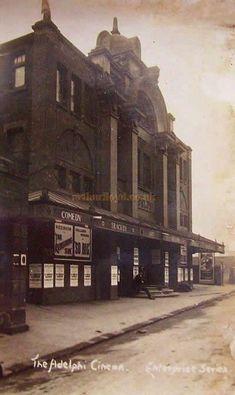 The Adelphi Theatre, Sheffield - Courtesy Lavonne Wiencek London History, Local History, British History, Sheffield City, Sheffield England, Old Pictures, Old Photos, Adelphi Theatre, Sheffield Wednesday