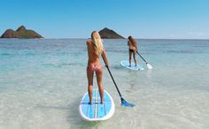 Try stand up paddle boarding! i love it.