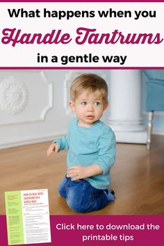 If dealing with tantrums is putting your patience to test, these positive parenting tips will help you maintain your calm and get your kid back to happy again. A must read for every parent of young kids!   How to stop toddler tantrums   Temper tantrums   Tantrums in public   Positive parenting printables #PositiveParenting #ParentingTips #GentleParenting #PositiveDiscipline