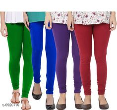 Leggings & Tights  Fancy Fashionista Women Leggings  Fabric: 100% Pure Cotton Lycra Pattern: Solid Multipack: 4 Sizes:  30 (Waist Size: 30 in Length Size: 40 in)  32 (Waist Size: 34 in Length Size: 40 in)  34 (Waist Size: 34 in Length Size: 40 in)  36 (Waist Size: 36 in Length Size: 40 in)  38 (Waist Size: 38 in Length Size: 40 in) Country of Origin: India Sizes Available: Free Size, 28, 30, 32, 34, 36, 38, 40   Catalog Rating: ★3.9 (508)  Catalog Name: Fancy Fashionista Women Leggings CatalogID_1104989 C79-SC1035 Code: 964-6920716-7911