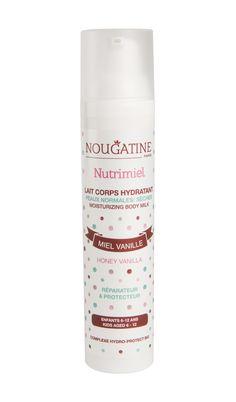 Doux Good - Nougatine - Lait hydratant corps Nutrimiel. A découvrir pour protéger la peau fragile des enfants  #cosmétique #naturel #onevoice #MadeInFrance
