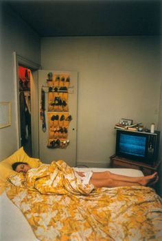 William Eggleston, UNTITLED (ROSA SLEEPING) MEMPHIS, TN [FROM DUST BELLS 1]