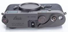 Vintage Camera Gorgeous and Very Rare Leica MP Titanium Available for the First Time Outside of Japan - In April of to commemorate their first anniversary, the Leica Store Ginza in Tokyo, Japan released the beautiful camera above: a Leica MP Titanium Rangefinder Camera, Leica Camera, Camera Gear, Film Camera, Dslr Photography Tips, Photography Equipment, Old Cameras, Vintage Cameras, Classic Camera
