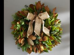 Hang one of these beautiful wreaths for some extra holiday cheer.