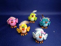 kunterbunte Vögel - Bastelset von PBN Diy Crafts For Kids, Art For Kids, Egg Box Craft, Fleurs Diy, Activity Room, Diy Ostern, Gifts For Family, Easter Crafts, Easter Eggs