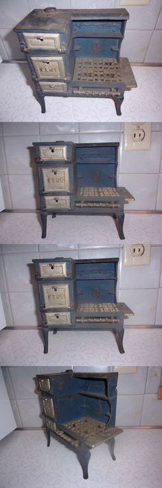 Cast Iron 721: Antique Salesman Sample Toy Kent Kitchen Stove Kenton -> BUY IT NOW ONLY: $150 on eBay!