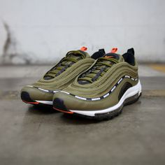 9365d215303c NIKE AIR MAX 97 OG UNDEFEATED MILITIA GREEN METALLIC SILVER AJ1986 300   igfashion  instalook