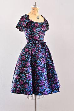 vintage 1950s dress - suzy perette